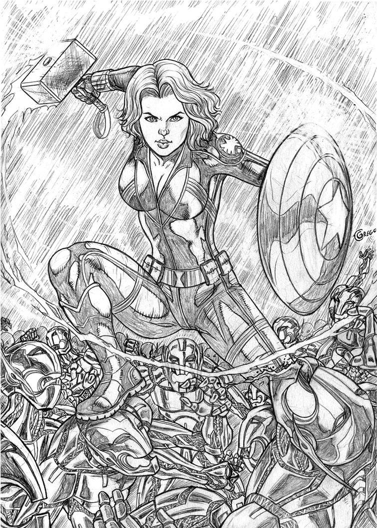 Black Widow by gregohq