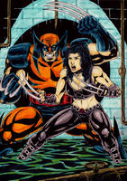 Wolverine And X23 by gregohq