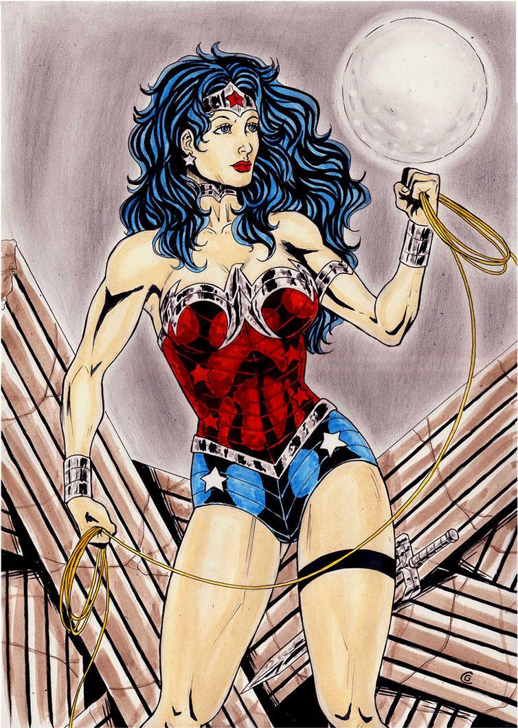 Wonderwoman New 52 by gregohq