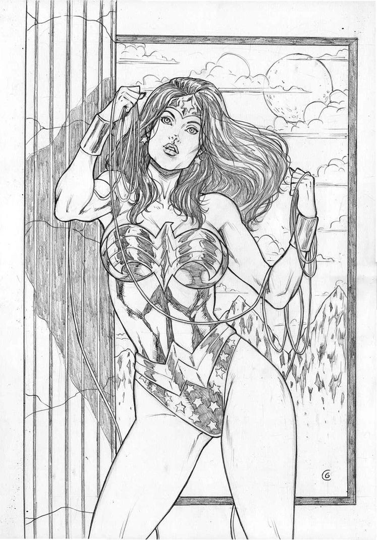 Wonder Woman by gregohq