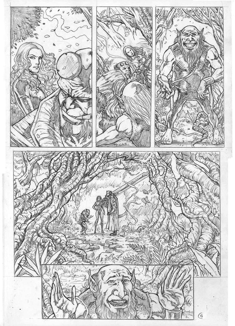 Hellboy Sample Page 03 by gregohq