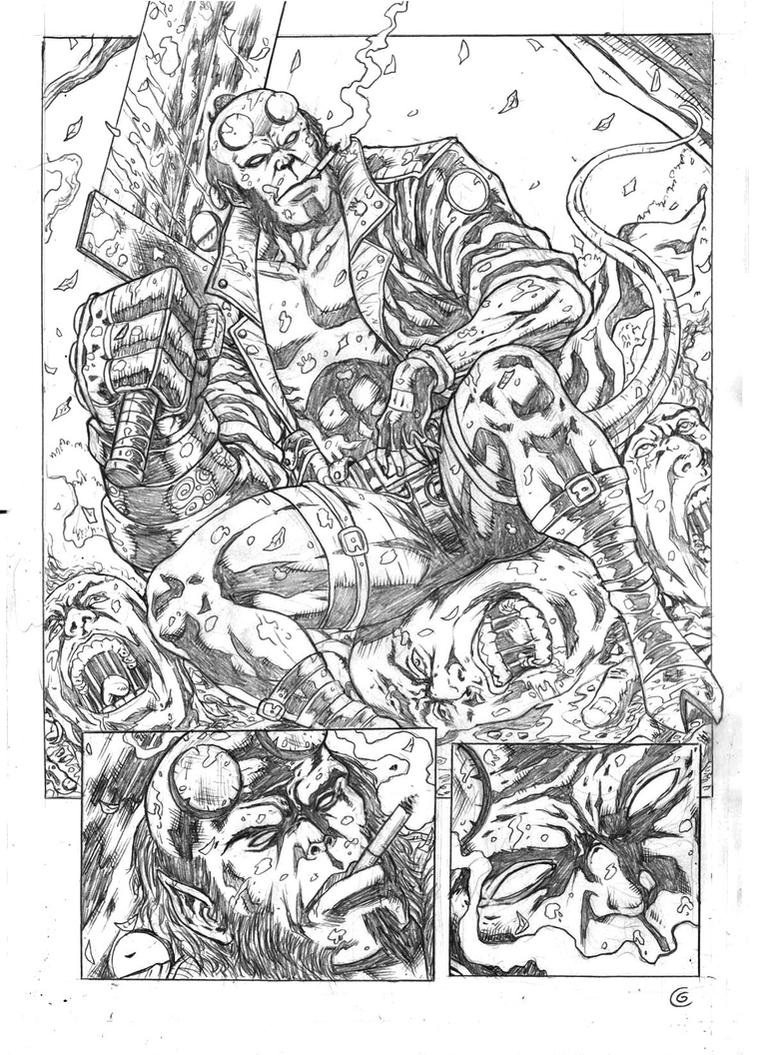 Hellboy Sample Page 02 by gregohq