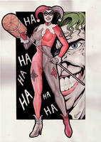 Harley Quinn by gregohq