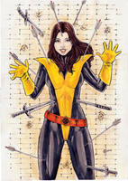 Kitty Pryde by gregohq