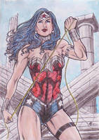 A4 wonder woman new 52 by gregohq