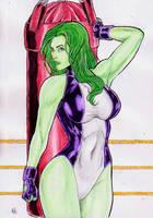 she hulk by gregohq