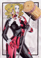 Harley-Quinn by gregohq