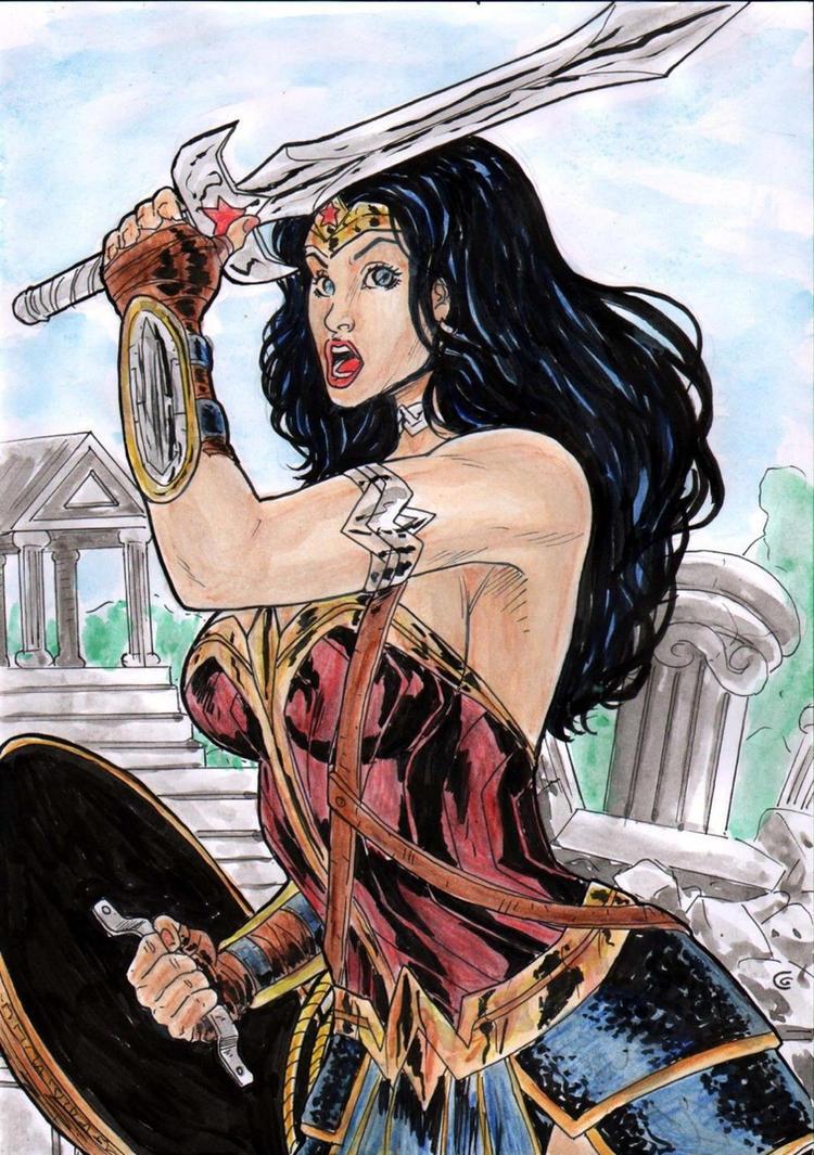 Wonder Womans Dc by gregohq