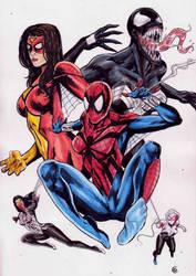 Spider girls by gregohq