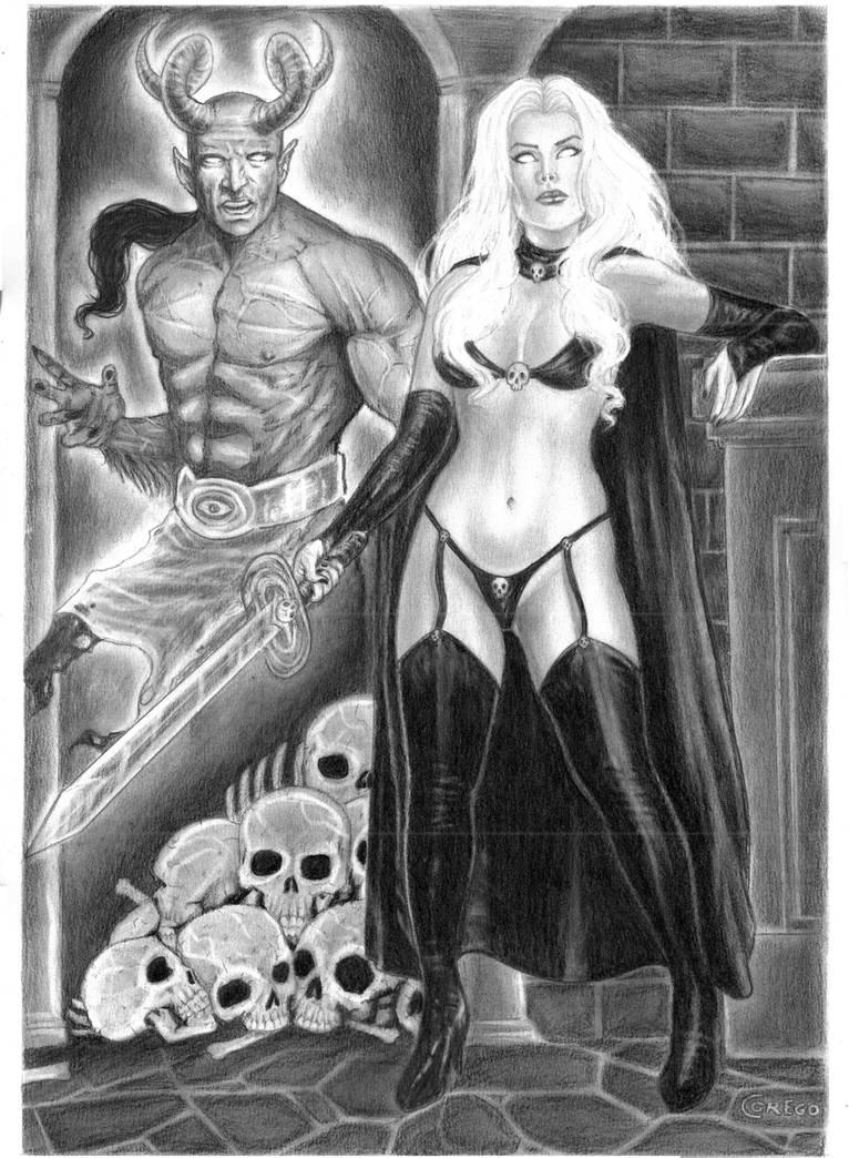 Lady Death by gregohq