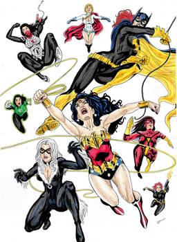 Comics Girls 4