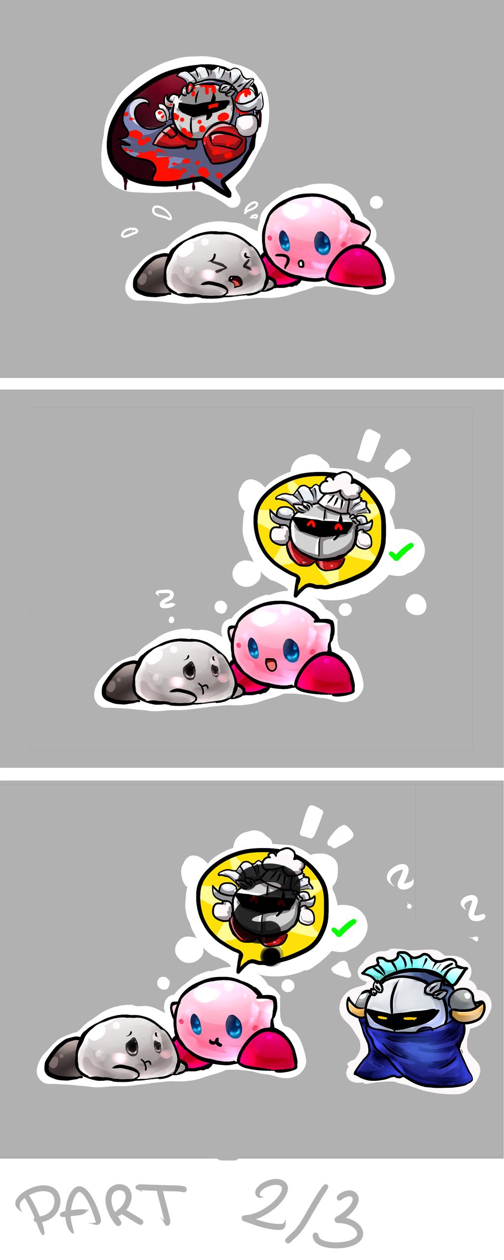 Little Kirby Fan ART-COMIC Part2 by XD-or-what