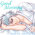Hitsugaya gif : good morning by Neokillerqc