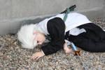 Hitsugaya cosplay - Defeated