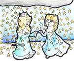 Elsalina: It's snowing stars!