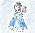 Gift: The Crystal Princess and the fairy