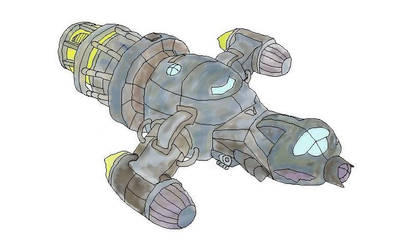 Spacecraft in color (based upon firefly)