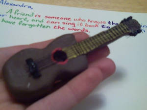clay guitar