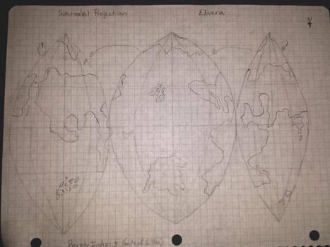 Elivera Sinusodial Map