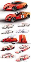 Ferrari project by candyrod