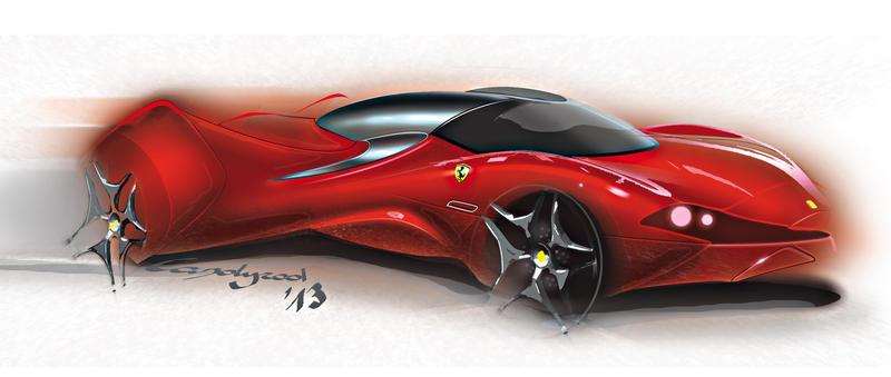 Ferrari-Concept by candyrod