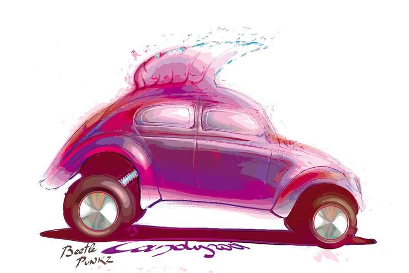 Beetle PunkZ by candyrod