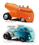 Hot Wheels Volkswagen concepts
