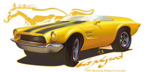 1967 Ford Mustang Allegro II