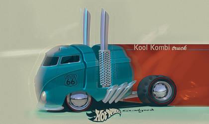 VW Kool Kombi truck by candyrod