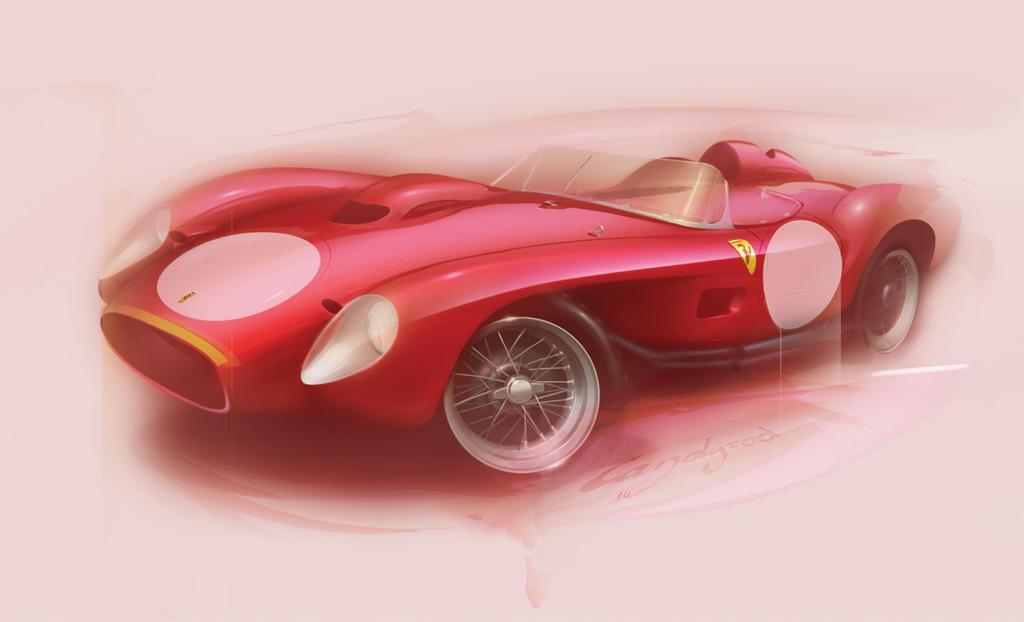 Ferrari 250 Testarossa 1957 by candyrod