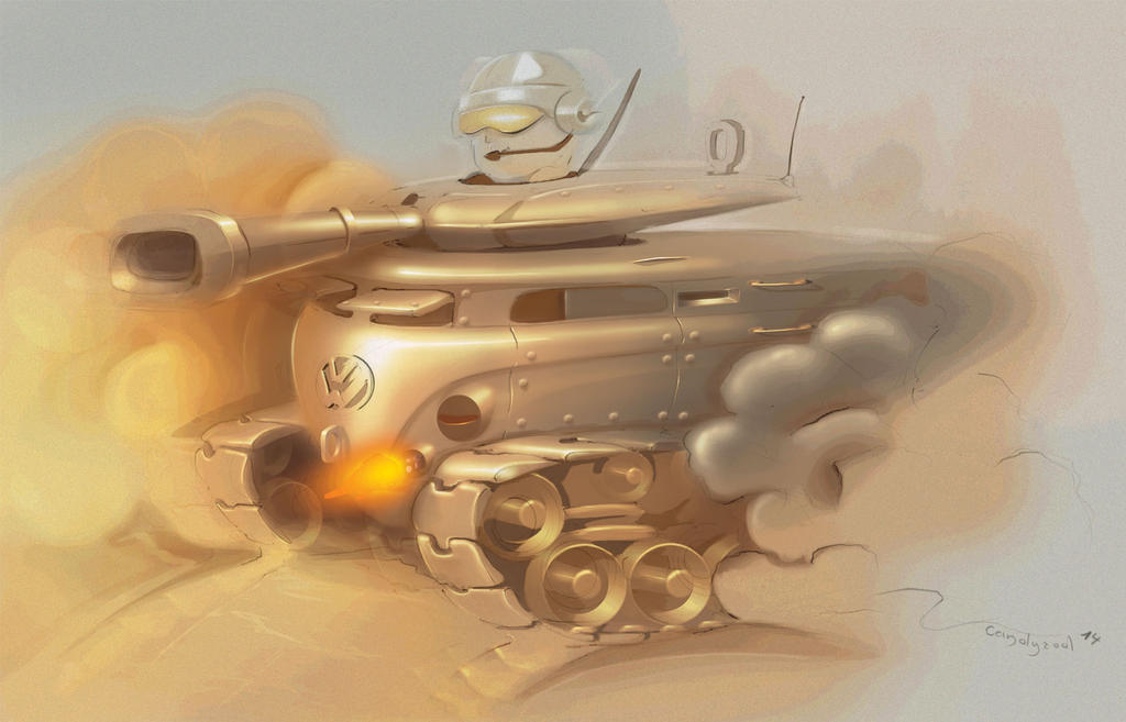Volkswagen Tank by candyrod