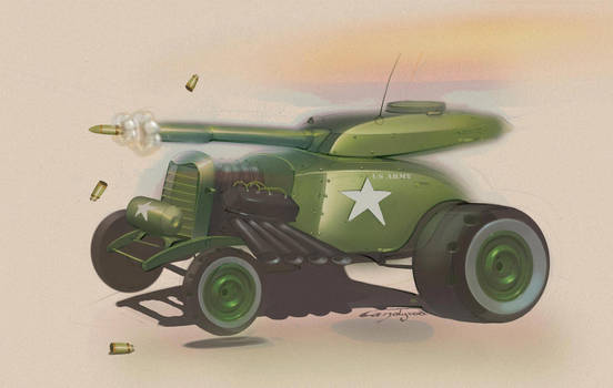 Tank Rods by candyrod