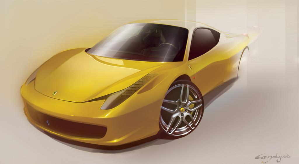 Ferrari 458 Italia by candyrod