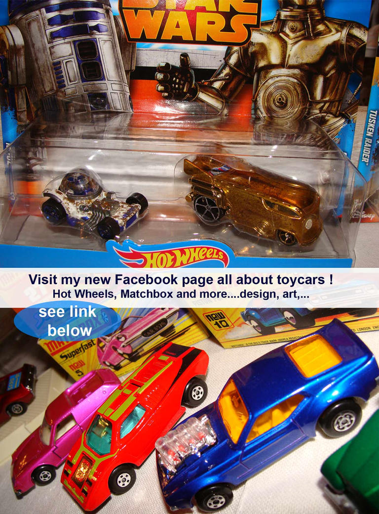 Toycars cool stuff with wheels (new Facebook page) by candyrod