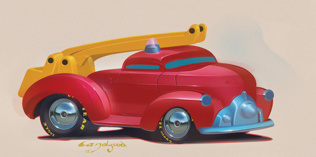 Fire truck by candyrod