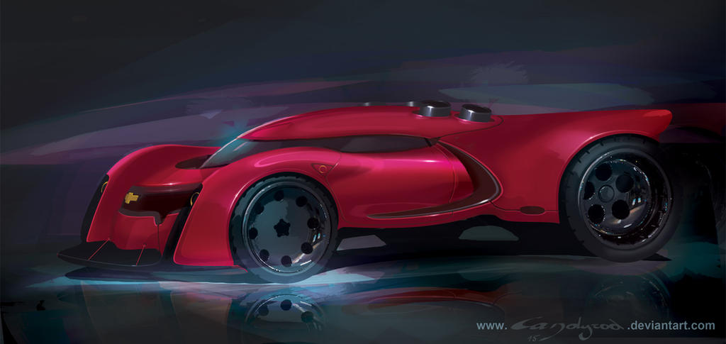 Chevrolet concept by candyrod