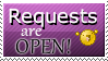Request Open Stamp