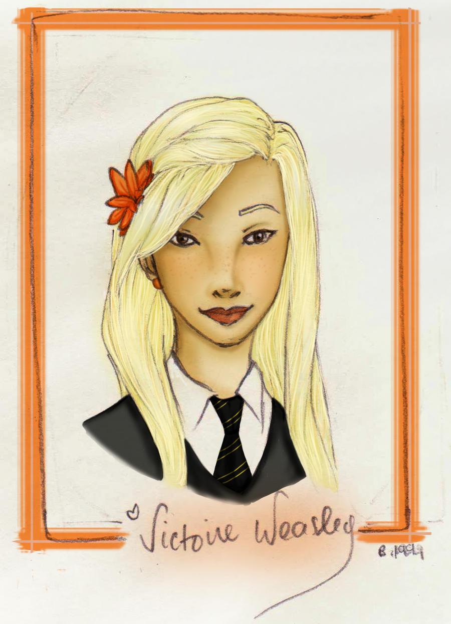 Victoire Weasley - Colour by charmontez on DeviantArt