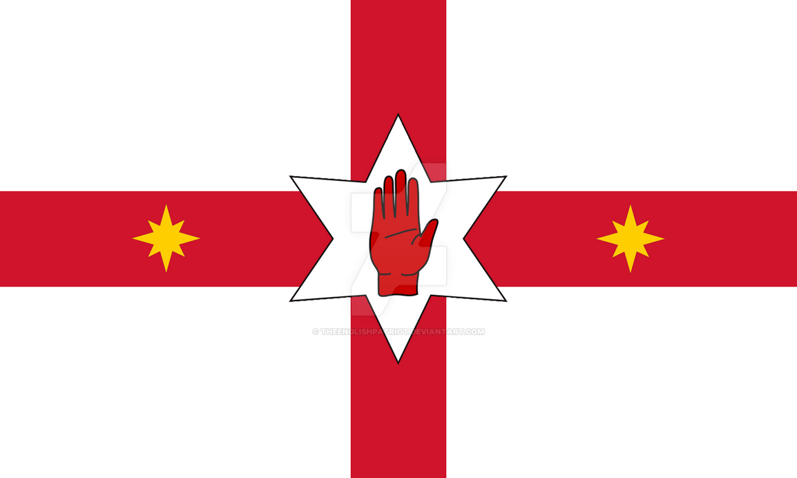 Alternate History Flag #1 | England and Ulster by ...