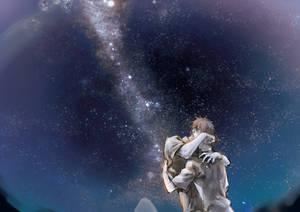 Night sky by yooani