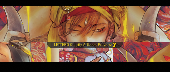 Letters Charity Artbook Preview: y by yooani