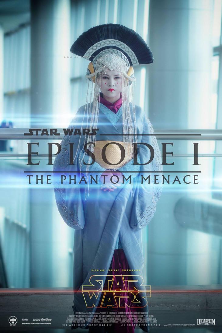 Queen Amidala - Coruscant Gown Star Wars Episode 1 by hazel-velas