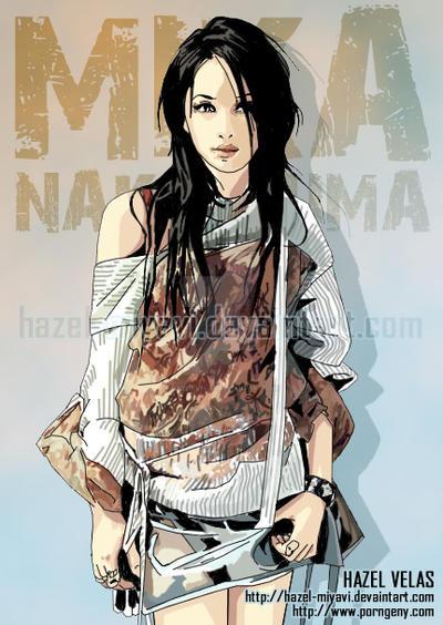 Mika Nakashima by hazel-velas