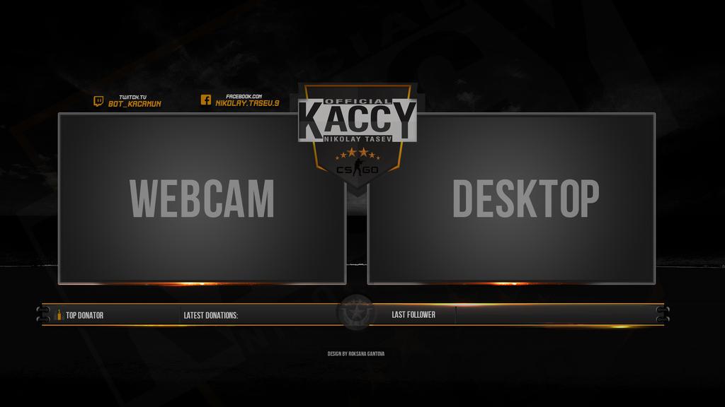 Webcam and desktop by r0xidesign