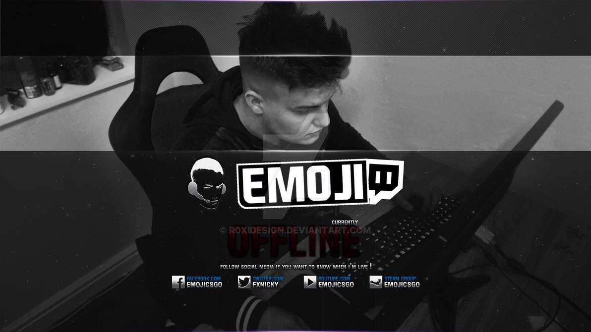 EmojiCS Offline by r0xidesign