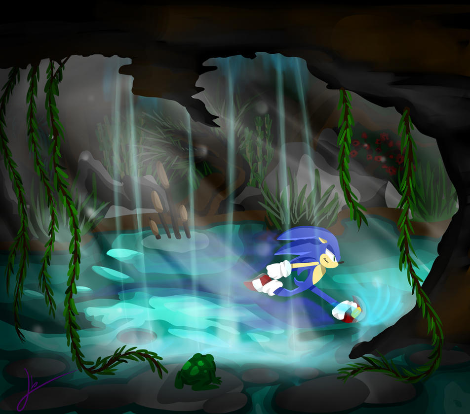 water cave by captainkayla56