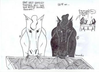 BINKY and Shadowmere by Carlota