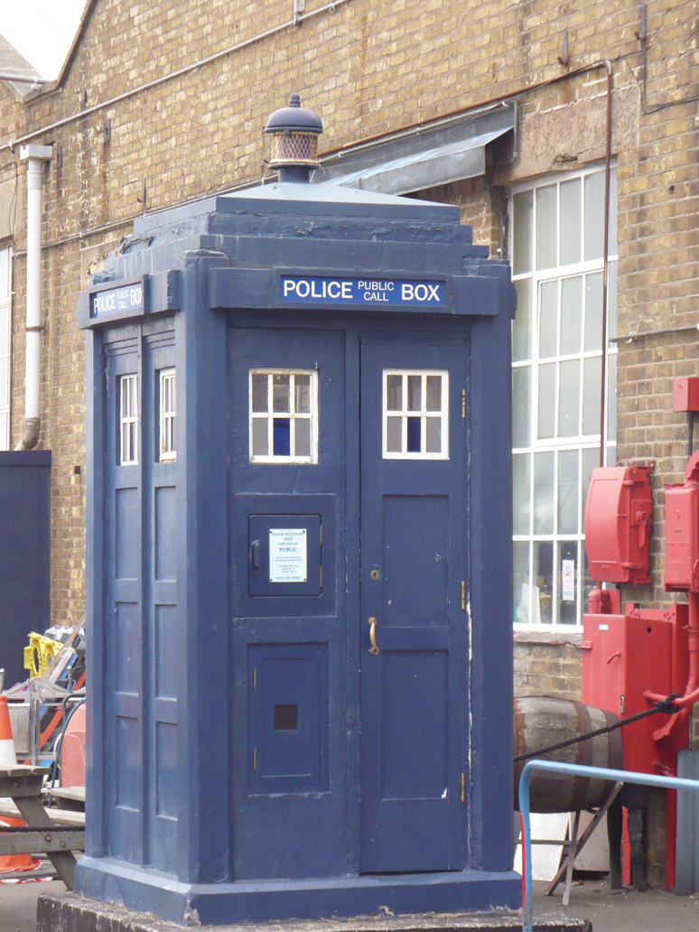 Police Public Call Box by pieceofshilohstock
