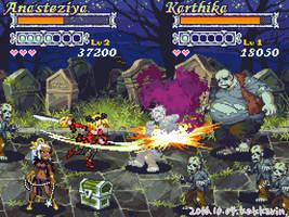 Game Mock-Up Screen : Beat 'em Up