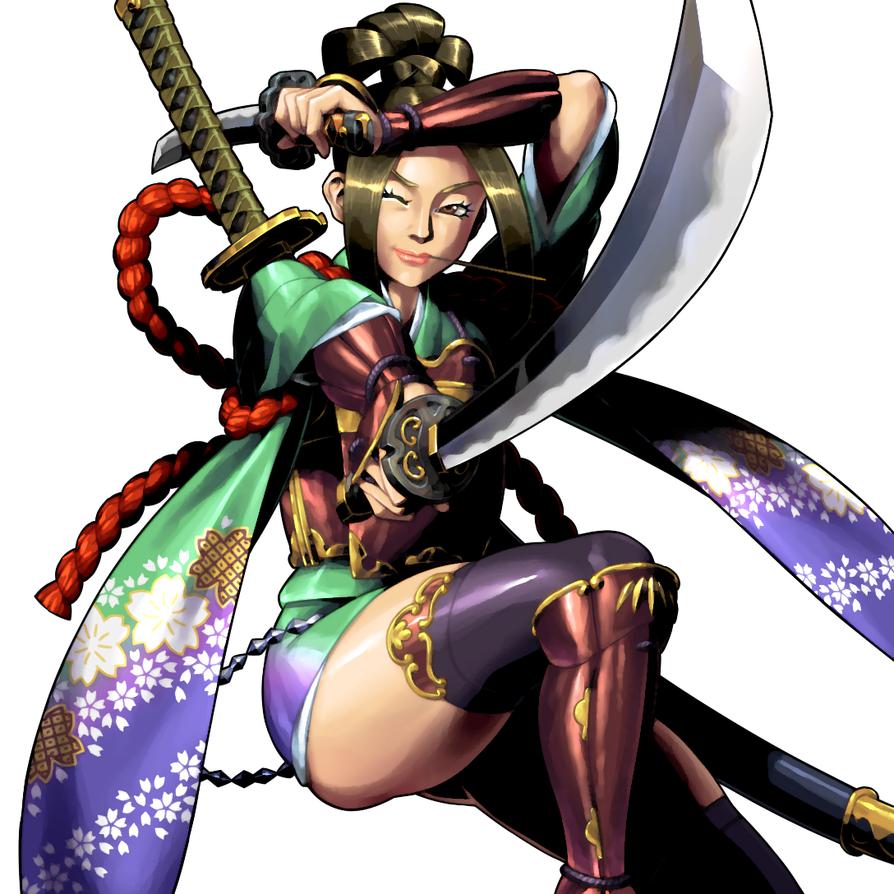 Female Samurai : Old Work(2011) by kakkarin